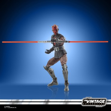 STAR WARS THE VINTAGE COLLECTION 3.75-INCH DARTH MAUL (MANDALORE) Figure - oop (2)