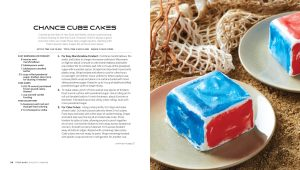 Chance Cube Cakes