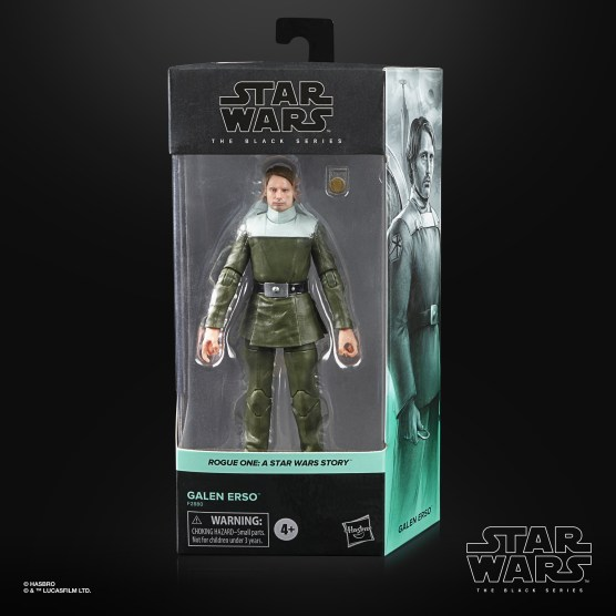 STAR WARS THE BLACK SERIES 6-INCH GALEN ERSO Figure - in pck (2)