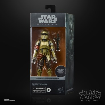 STAR WARS THE BLACK SERIES CARBONIZED COLLECTION 6-INCH SHORETROOPER Figure 1