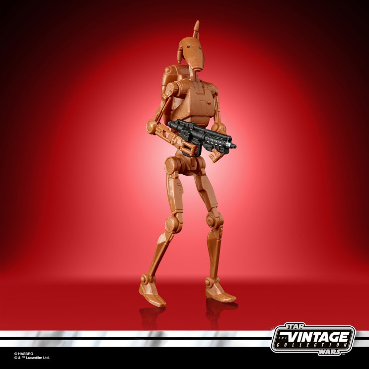 STAR WARS THE VINTAGE COLLECTION 3.75-INCH BATTLE DROID Figure 6