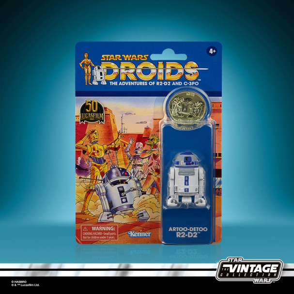 STAR WARS THE VINTAGE COLLECTION 3.75-INCH ARTOO-DETOO (R2-D2) Figure_in pck 1