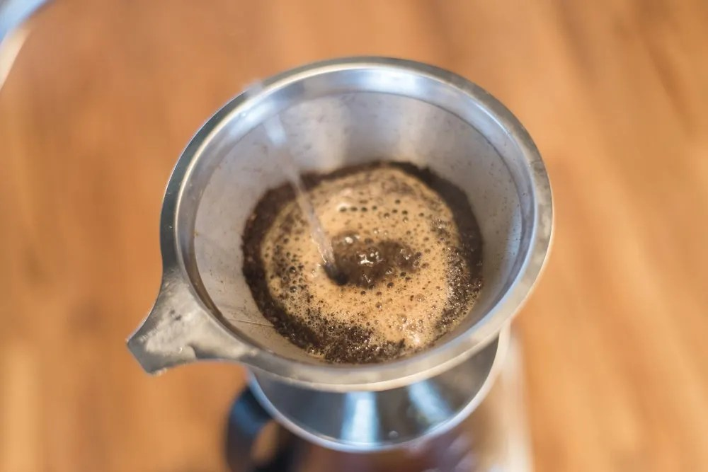 Pour-over coffee - more flavors by going paperless 4