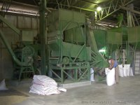 Modern coffee milling plant; pride of the growers cooperativa.