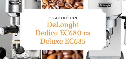 الفرق بين ماكينة قهوة ديلونجي ديديكا ec680 وec685
