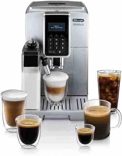 De'Longhi ECAM35075SI Dinamica with LatteCrema™ Fully Automatic Espresso Machine