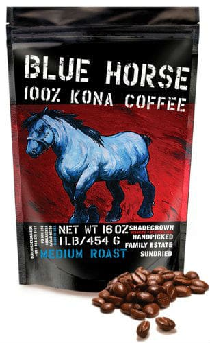 Blue Horse Kona Coffee best coffee beans for espresso a review