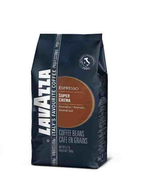 best coffee beans for espresso a review Lavazza Super Crema Whole Bean Coffee