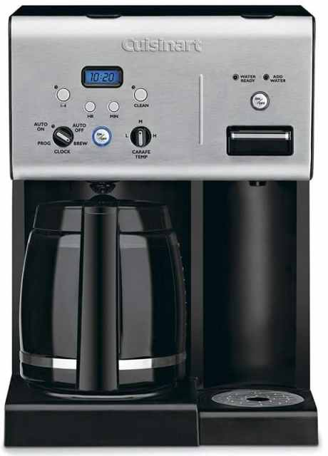 coffee pod machine with hot water dispenser