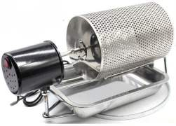 drum roaster for organic coffee beans home roasting