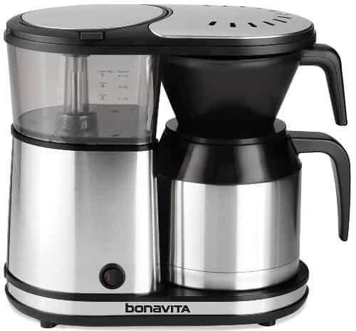 stainless steel coffee maker Bonavita BV1500TS One-Touch Coffee Maker