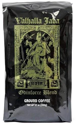 Valhalla Java Ground Coffee by Death Wish Coffee Company organic coffee beans