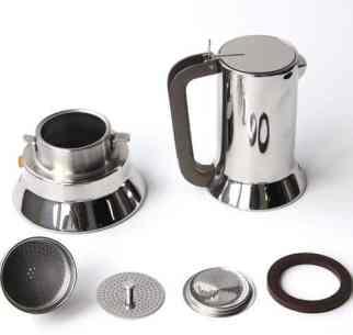 how to clean moka pot