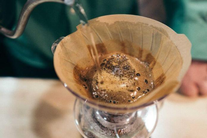 plastic free pour over coffee maker