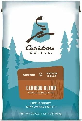 Caribou Coffee, Caribou Blend - Best Medium Roast