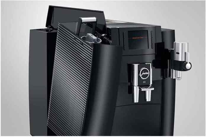 jura e8 super automatic coffee maker ease of use