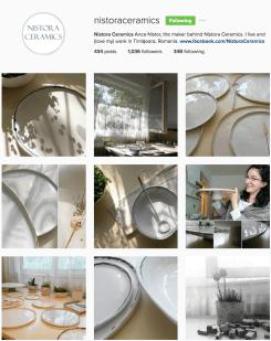 Am o dragoste pentru ceramica handmade. O frumusețe https://www.instagram.com/nistoraceramics/