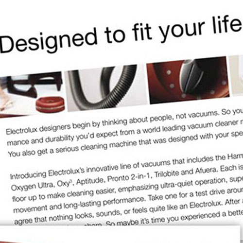 electrolux product brochure 2