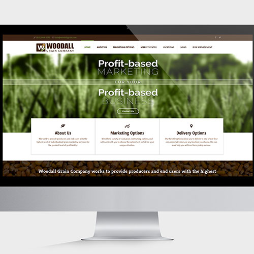 Woodall Grain Company Website