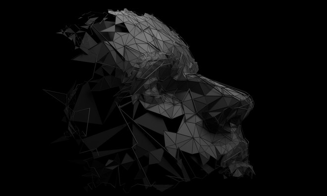 Abstract 3D Rendering of Polygonal Human Face