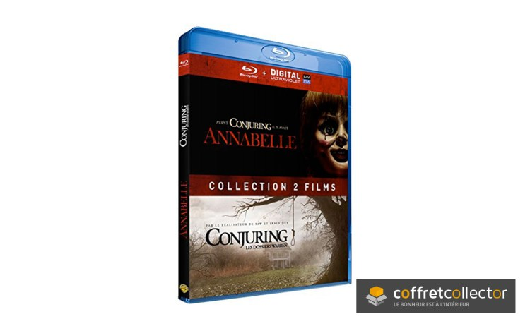 L'édition collector Annabelle + Conjuring : les dossiers Warren