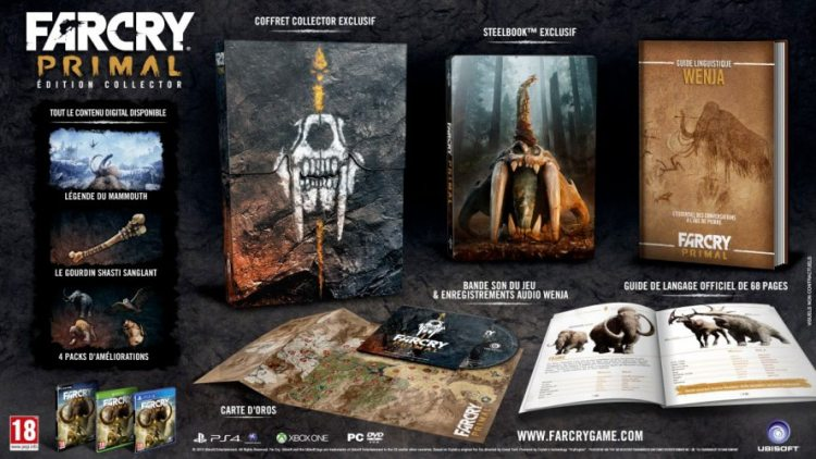 Far Cry Primal en édition collector