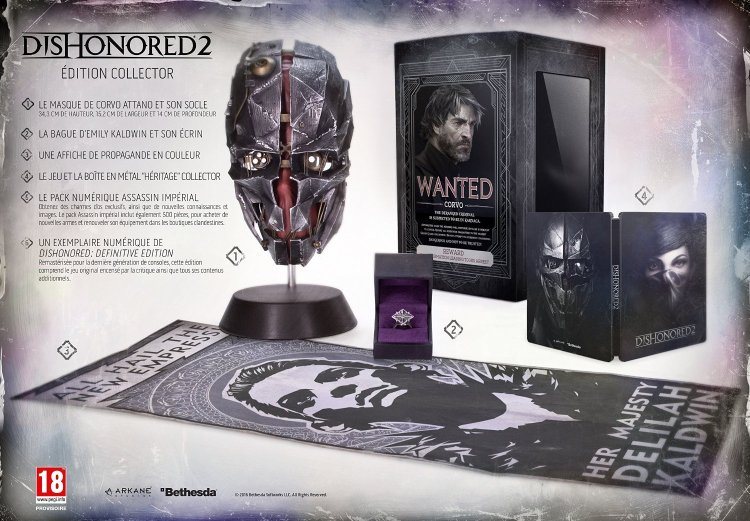 Dishonored 2 - Edition collector