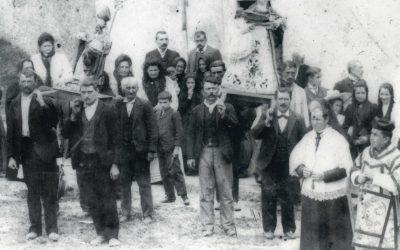 Fiestas de Santa Ana. La Procesión (1886).