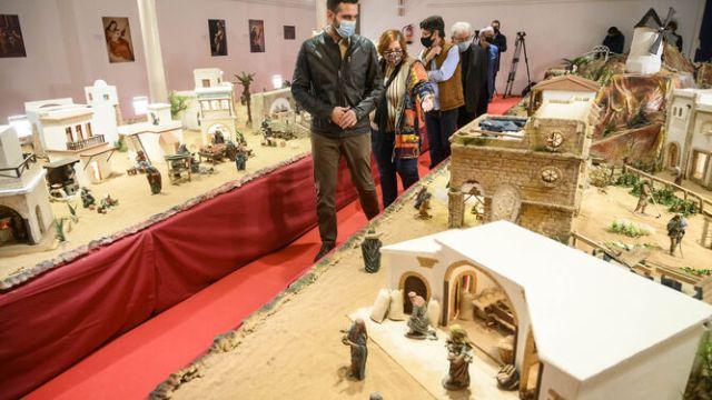 Más de 400 figuras forman el tradicional Belén Municipal que se podrá visitar con cita previa