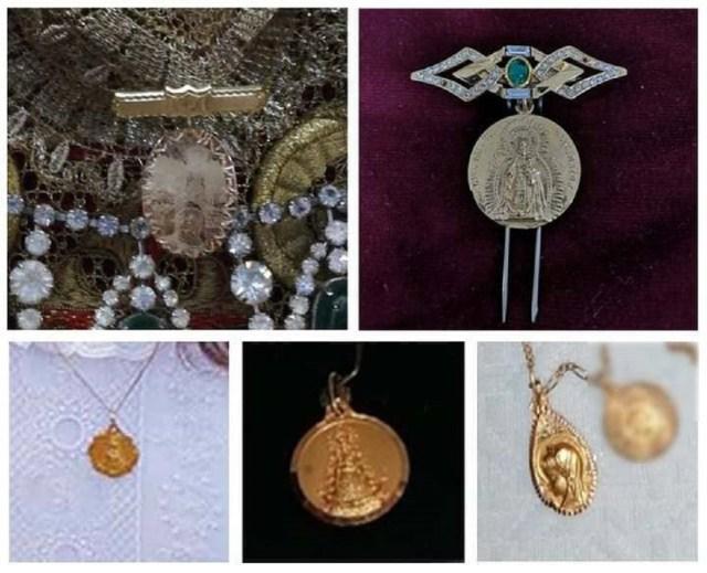La Policía Nacional recupera las joyas robadas de la Virgen del Amor