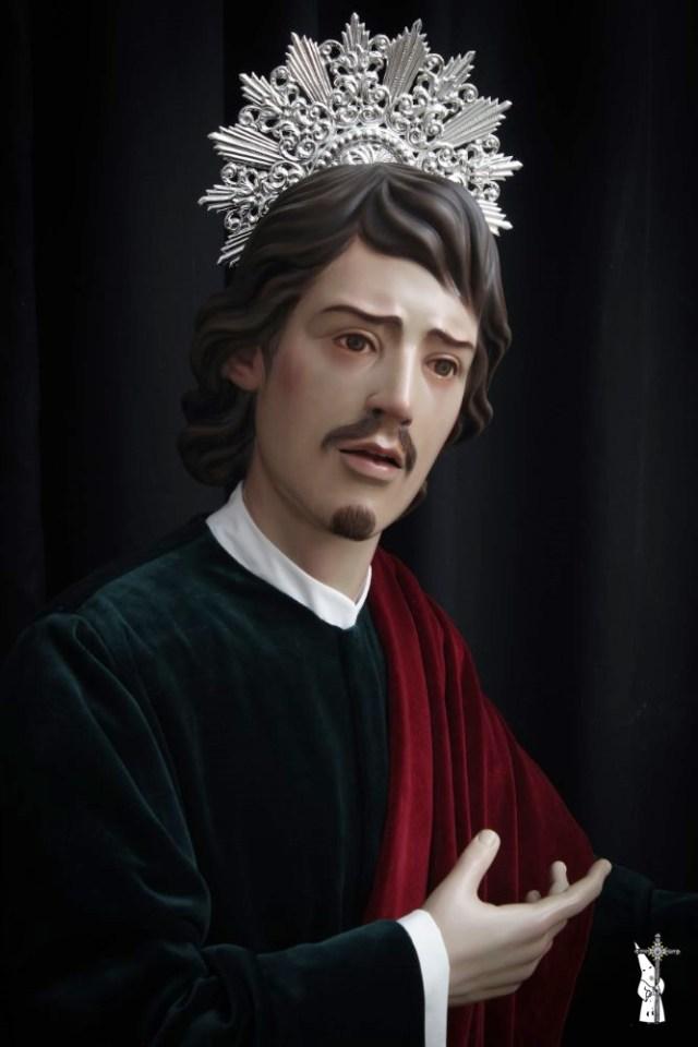 Nueva obra de San Juan Evangelista de Ramón Martín para la Hermandad del Cautivo