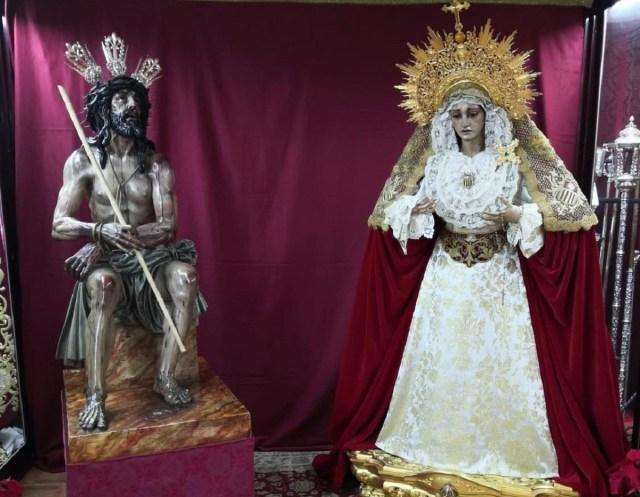 La Merced traslada sus imágenes a la casa de hermandad