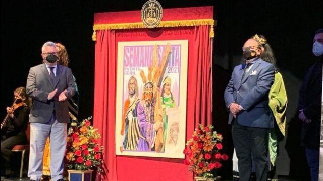 Una obra de Jesús Berral anuncia la Semana Santa de Puente Genil de 2021