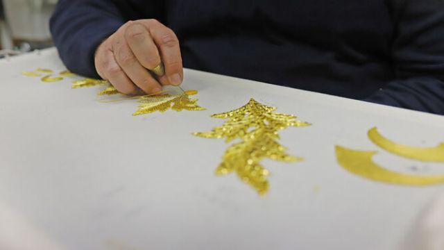La artesanía cofrade teme y prevé su peor año: «Sin Semana Santa perdemos el 70% de la facturación»