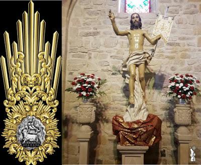La Imagen de Jesús Resucitado de Úbeda (Jaén) estrenará un juego de potencias para su salida procesional