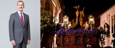 El Rey Felipe VI acepta presidir el Comité Honorífico del 475 Aniversario Fundacional de la Vera+Cruz de Linares