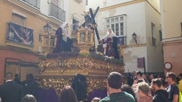 Nuestro Padre Jesús del Mayor Dolor (Hdad de La Sanidad) por el Populo  Semana Santa Cádiz 2019