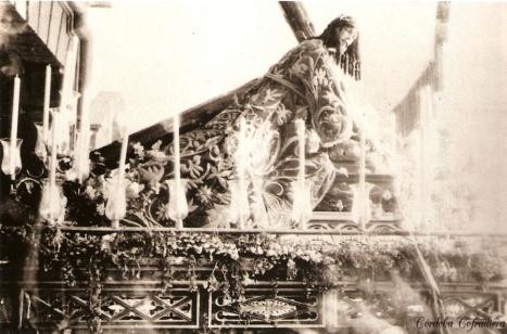 Los estrenos de la hermandad de Jesús Caído de Córdoba en 1921