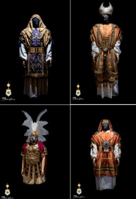 La Hermandad de San Gonzalo presenta las nuevas vestimentas de sus imágenes de paso