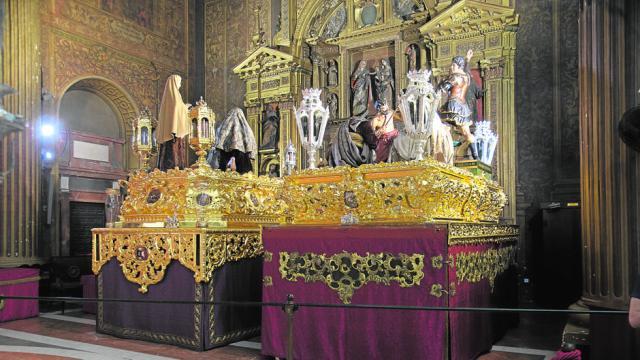 El Valle de Sevilla expondrá a sus cristos sobre los pasos en Semana Santa