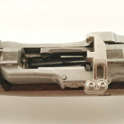 Stainless stripper clip guide for Mini-14