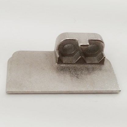 Mini-14 or Mini-30 side plate for mounting stripper clip guide