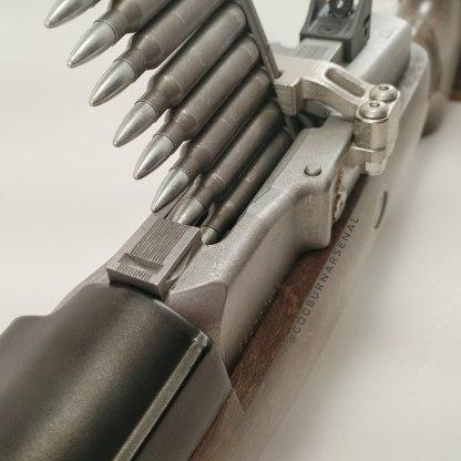 Mini-14 side mounted stripper clip guide