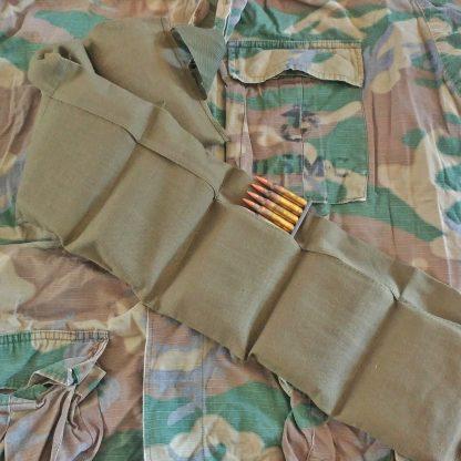Vietnam era US Military 7 pocket bandoleer for 5.56x45mm ammo