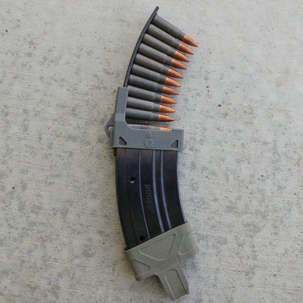 Mini-Thirty magazine loader grey