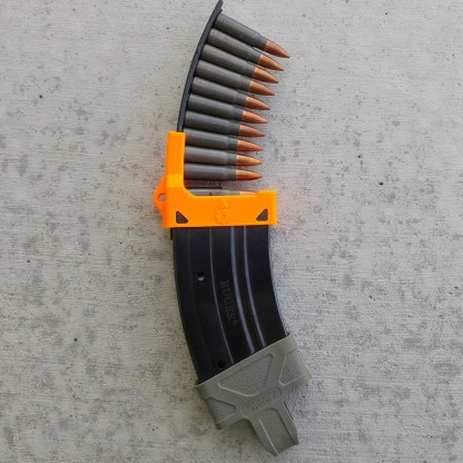 Mini-thirty mag loader orange