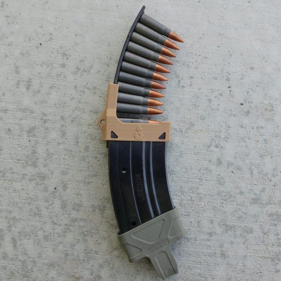Mini-30 mag loader tan
