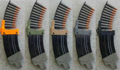 Collection of Mini-30 magazine loaders