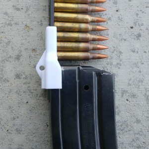 White Mini-14 Speed loader