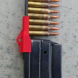 Red Mini-14 Stripper clip magazine loader
